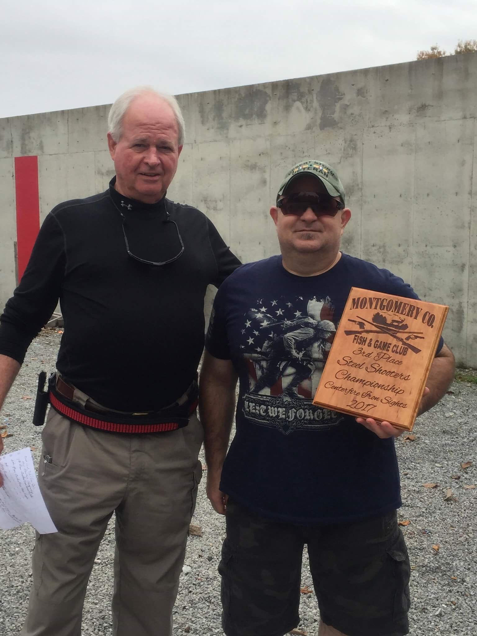 Richard Schwalbe - 3rd Place Iron Sights